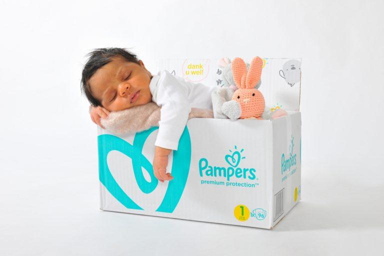 Babyshooting mit schlafendem Kind